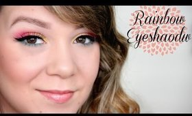 Rave/Rainbow Eyeshadow Tutorial