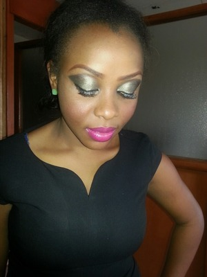Makeup for a musical video