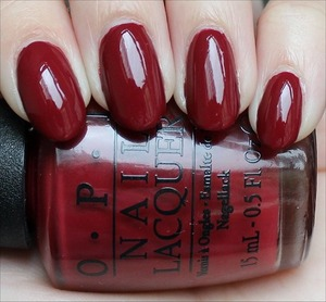 From the San Francisco Collection out in August. Click here to see my in-depth review and more swatches: http://www.swatchandlearn.com/opi-lost-on-lombard-swatches-review/