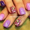 Jeweled Purple Ombre