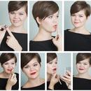 One lipstick three ways