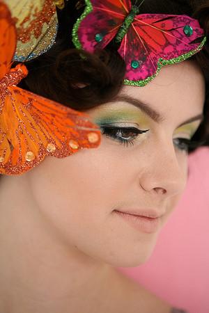Glittering Butterflies Beauty Shoot