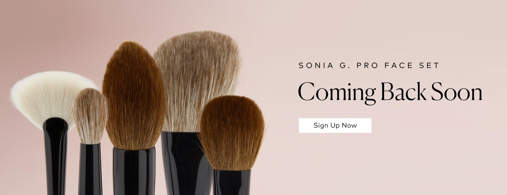 Sonia G.'s Pro Face Set Restock - Sign Up Now.