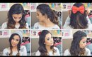 Easy Holiday Hairstyles for Medium and Long Hair!