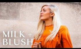 60's Deep Side Part Using Milk + Blush Hair Extensions | Milk + Blush