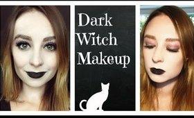 Dark Witch Makeup | Halloween Collab | 2014