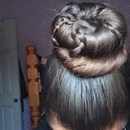 Braided bun tutorial or not?(;<3