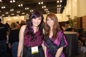 With the sweet and gorgeous Amber at IMATS