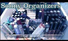 Organize With Me! | New Sonny Cosmetics Makeup Organizer Review