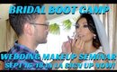 BRIDAL WEDDING MAKEUP TIPS & TRICKS | 3 DAY BRIDAL BOOT CAMP SEMINAR - mathias4makeup