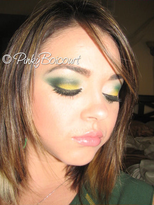 Green Bay Packers Inspired tutorial