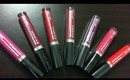 FERGIE BY WET N WILD 2014 LIP STAINS HAUL COLLECTION REVIEW
