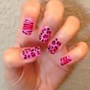 Pink Zebra/Leopard