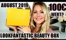 Lookfantastic Beauty Box August 2019 | UNBOXING & kleine Verlosung