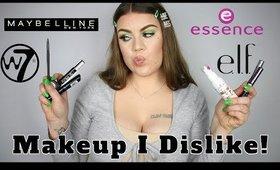 Makeup I Dislike!