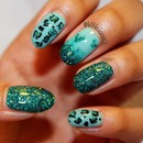China Glaze Atlantis & For Audrey. ♥ 1