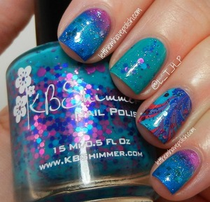 For full details about this mani head on over to: http://www.letthemhavepolish.com/2013/06/kbshimmer-totally-tubular-inspired-nail.html