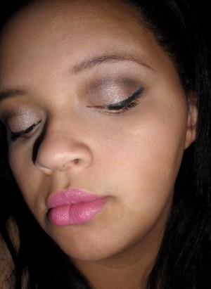 Last Minute NYE makeup