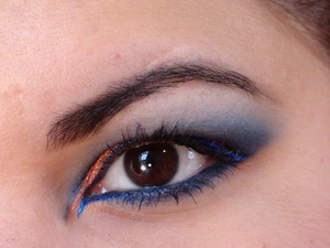 Fire and Ice Cut Crease
