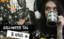 HALLOWEEN TAG & HAUL | LEANNE WOODFULL