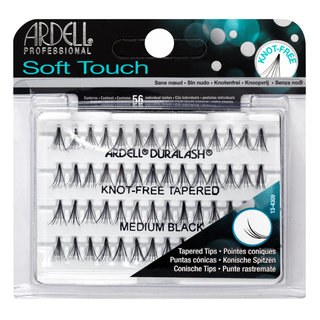 Soft Touch Individuals Knot-Free Lashes Medium Black