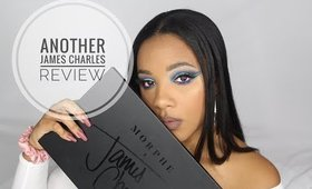 #JamesCharles Palette Tutorial  Blue Cut Crease    leiydbeauty