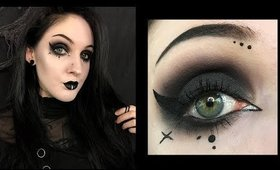 Dark Gothic Makeup | Speed Tutorial