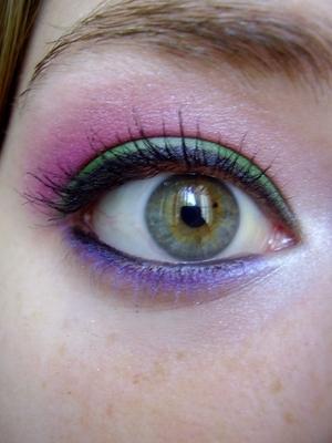 rusty volcanoe eyeshadow tutorial