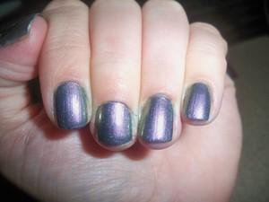Sally Hansen Nail Prisms 'Emeral Amethyst' Two Coats