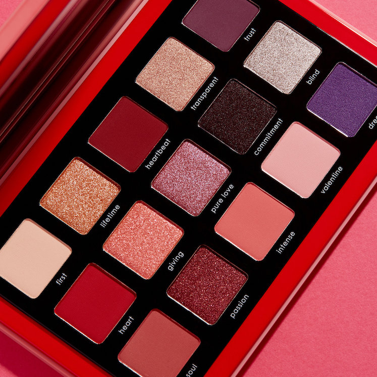 Alternate product image for Love Palette shown with the description.