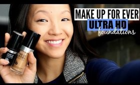 [REVIEW] Make Up For Ever Ultra HD Liquid & Stick Foundations | now&jenn