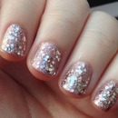 Rose Gold Glitter!
