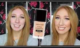 Wet N Wild Photo Focus Foundation on OILY SKIN! | FIRST IMPRESSION