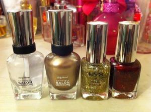 Gold Holiday - Nail Polishes