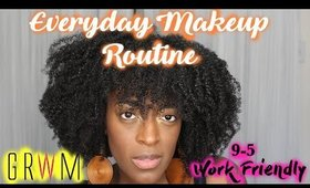 GRWM: 9-5 Makeup Routine (An Everyday Makeup Routine) Talk Thru l TotalDivaRea