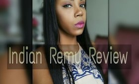 INDIAN REMY REVIEW/ U- PART WIG FOR SHAVED HEAD