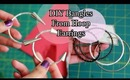 DIY: Bangles From Earrings