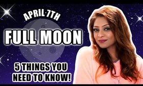⚖️ FULL MOON IN LIBRA MAY 7TH 🌕 5 THINGS YOU NEED TO KNOW ABOUT THIS PINK SUPERMOON! ⚖️