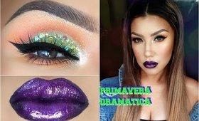 Maquillaje de PRIMAVERA DRAMATICO / | auroramakeup