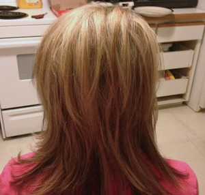 High-lights and Low-lights and Haircut by Christy Farabaugh