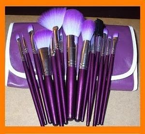 16 piece makeup brush set