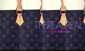My first #LouisVuitton Unboxing #TheRealReal