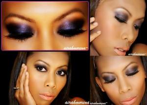 "Rihanna ""LOve the way you lie"" Inspired Makeup"