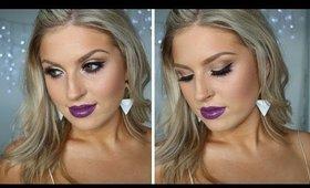 Chit Chat GRWM ♡ Gold Eyes & Purple Lips!
