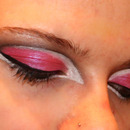 Pink Ranger Inspired Eyes
