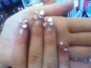 Got my nails done at Marion
