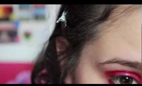 .Make-Up Tutorial: Cherry Ode to the Bouncer make-up look (Italian- for lacindina's contest).