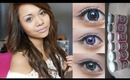 Blue, Violet, & Turquoise Circle Lens (Kiwiberry1's Collection) Review