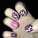 cheetah nails!