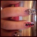 Nail Art... Swarvoski Crystal Nails